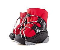 Детские сапоги-дутики SNOW Ride красный Размер:26/27