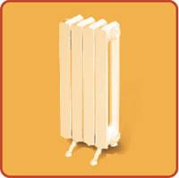 Радиатор чугунный 2К60 ПП 500мм (126Вт/секц.) 12 секций