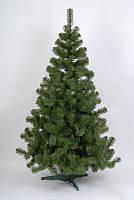 Ель искусственная новогодняя 2.2 м - зеленая