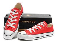 Кеды Converse All Star Low Red низкие красные