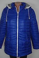 Куртка женская демисезонная на молнии батал