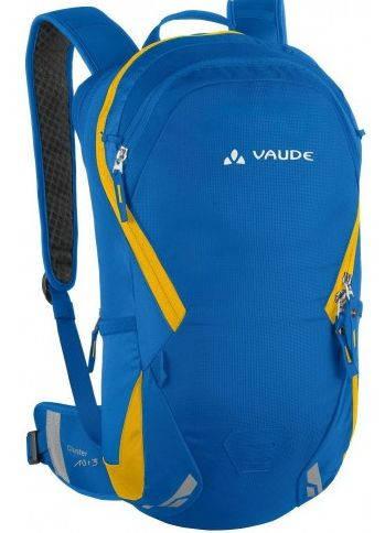 Рюкзак для непродолжительных велотуров 10+3 Vaude Cluster 4021573891914 Голубой