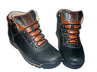 Ботинки мужские Oxion(ч), натуральная кожа, зимние на меху