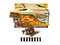Музыкальный динозавр в коробке Рекс
