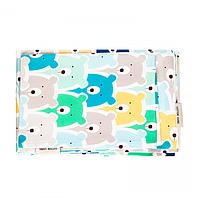 Cotton Living - Комплект постельного белья в кроватку Funny Bears Blue