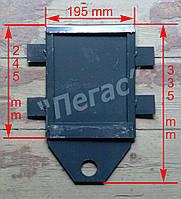 Задвижка печная металлическая (195х245 мм)