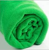 Полотенце из микрофибры 70*140 микрофибра банное пляжное для бассейна зеленое