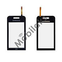 Тачскрин (сенсор) Samsung S5230 WiFi, цвет черный