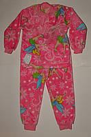Пижама махровая на девочку 30 р  розовая Винкс.