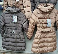"""Детское пальто для девочки """"TYK"""""""