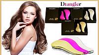 Расческа для волос hair tamer -Dtangler металлическая расцветка