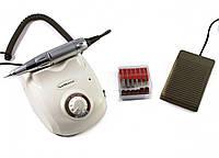 Машинка для шлифовки ногтей, фрезер для маникюра и педикюра DM-208 35 000 об.мин. Мощность - 40 Вт