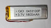 Аккумулятор (04*33*100), 3.7V, 1800mAh