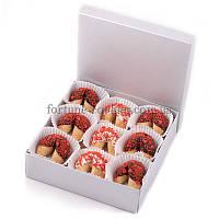 Печенье с предсказаниями «Love is...», 9 шт. в шоколадной глазури
