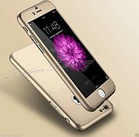 Чехол 3 в 1 полная защита + стекло для Iphone 6/6S 4.7