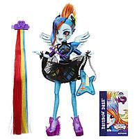 Кукла пони  Рэйнбоу Дэш  Девушки эквестрии Стильные прически  My Little Pony Equestria girls