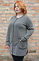 Туника большого размера Букле, туника для полных женщин, женская одежда больших размеров,  дропшиппинг