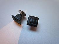 Винт ременной декоративный 8 х 6,5 мм чёрный