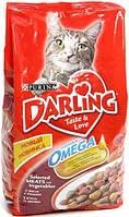 Darling (Дарлинг) сухой корм для взрослых кошек С мясом и овощами 10 кг