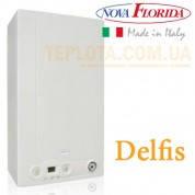Газовый котел NOVA FLORIDA DELFIS CTN 24 AF monotermica (двухконтурный, 2 теплообменника, дымоходный, 24 кВт)