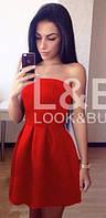 """Лето!! Платье """"France"""" красное"""