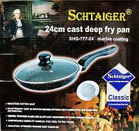 Сковородка алюминиевая, сковорода с керамическим антипригарным покрытием 24 см.