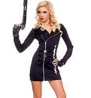 Карнавальный костюм «Девушка-Терминатор»