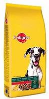 Pedigree (Педигри) Adult Maxi сухой корм с говядиной и овощами для взрослых собак более 25 кг 15 кг