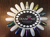 Зеркальная втирка (пудра) для ногтей, 8 цветов
