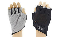 Перчатки для фитнеca VELO ( открытые пальцы,черный)