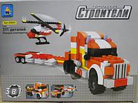 Контруктор блочный Городские строители 3 в1 311 детали,25624