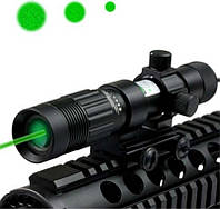 Лазерный прицел зеленый регулируемый 230 мВт лазер целеуказатель лазерный ЦУ ЛЦУ