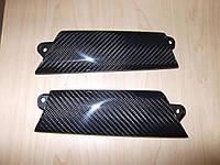 Carbon карбоновые накладки на дверные ручки Mini Cooper S R55 R56 R57 R59 2007+ новые оригинал