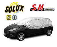 Автомобильный чехол от солнца и инея Solux S-M Hatchback