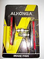 Тормозные колодки Alhonga КА-B01 Красные