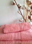 Полотенце  для бани (цвет чайная роза)