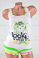 Женский комплект майка+шорты Турция PinkSecret 3622-R