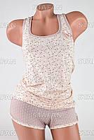 Женский комплект майка+шорты Турция PinkSecret 3612-R