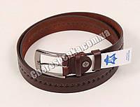 Ремень мужской кожаный 52-810-1