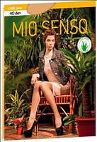Колготы женские капроновые Mio Senso LIME 40 den c плотными шортиками
