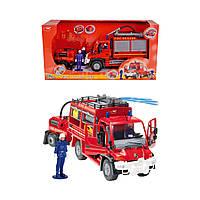 Пожарная машина с бочкой и фигурками 3444823 ТМ: Dickie Toys