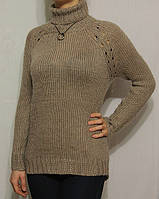 Стильный вязаный женский свитер из Европы