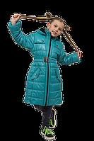 """Зимнее пальто для девочки """"Стелла-бьянка"""" размеры 122-152"""