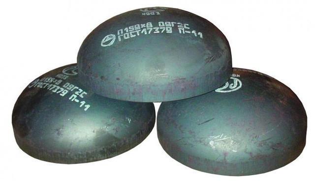 Заглушка стальная Ду  108Х8,0