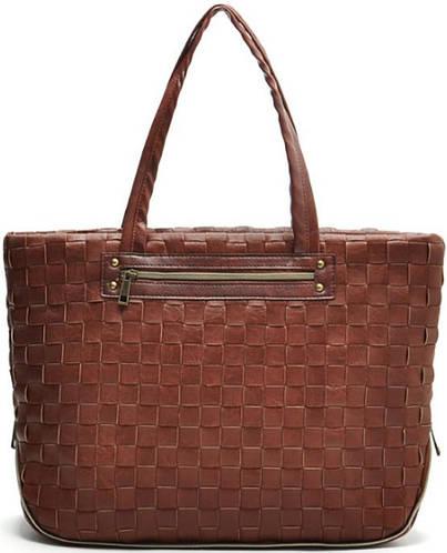 Вместительная женская сумка из искусственной кожи Traum 7241-03, коричневый
