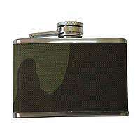 Фляга MIL-TEC Stainless Steel Flask 110 ml Woodland