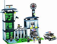 """Конструктор """"Полиция - Полицейский участок"""" 589 деталей, Brick 129"""