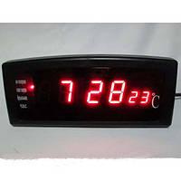Часы настольные электронные СХ 868-1 с красной подсветкой