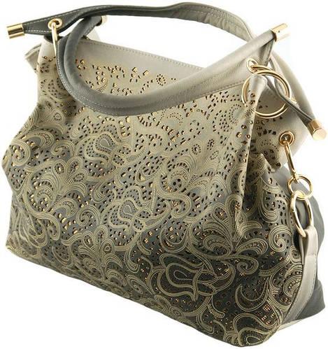 Замечательная женская сумка из искусственной кожи Traum 7236-05, серый