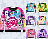 "Детский свитшот 3D ""My Little Pony"" (р.80-140)"